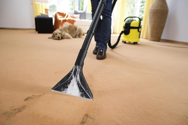 Приобретите пылесос с функцией влажной уборки