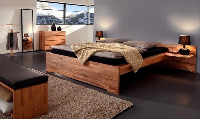 Такая постель обеспечит полноценный отдых супругов даже при беспокойном сне
