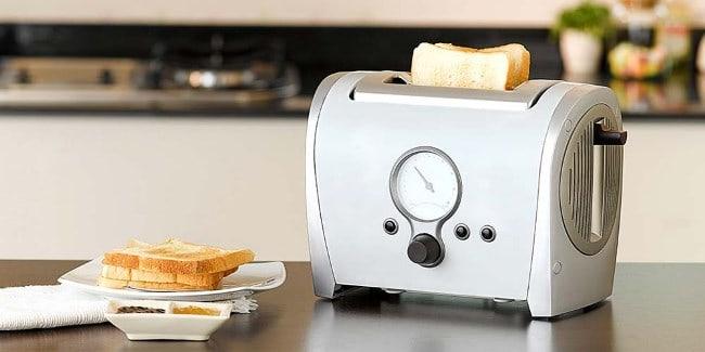 Устройство придумали, чтобы не поджаривать хлеб на сковородке