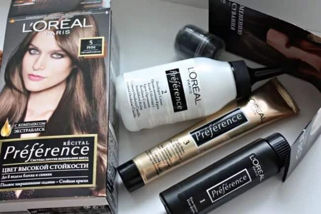 Вместо специализированной краски можно взять обычную для волос