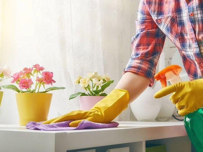 Не забывайте генералить, основательно очищая квартиру хотя бы раз в месяц