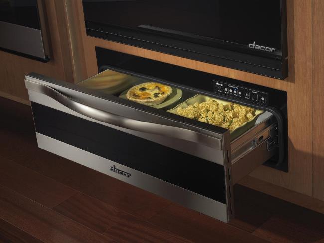 Ящик можно использовать для сохранения температуры в готовых блюдах