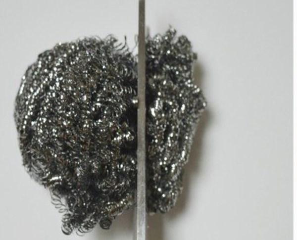 Губка может на время заменить точильный камень