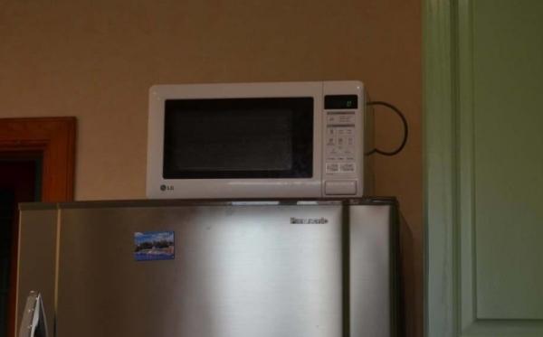 Микроволновая печь затруднит работу холодильника