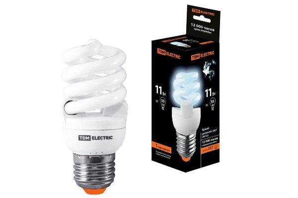 Выбирайте энергосберегающие лампы с небольшим количеством Вт