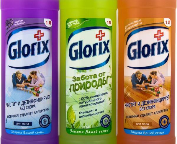 Моющее не содержит хлор