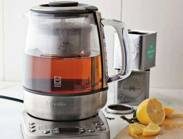 Вместимость чайника варьируется от 1 до 1,7 литров