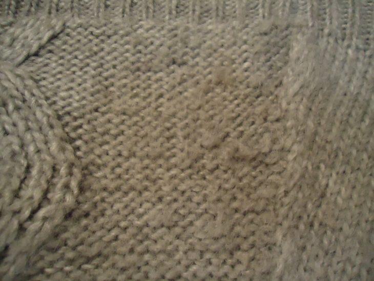 свитер без катышек