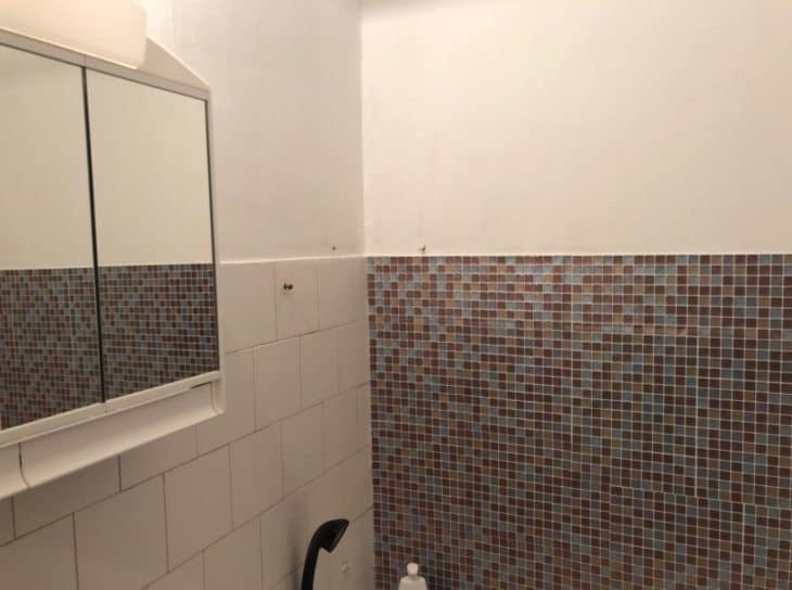 ванная с мозаикой