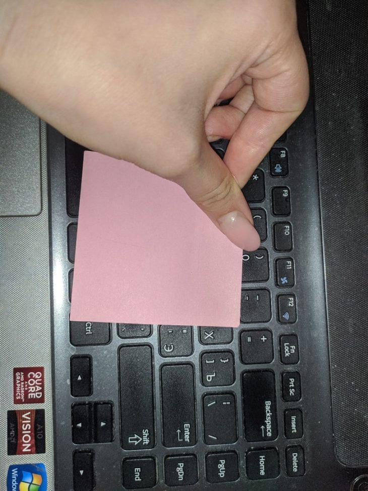 чистая клавиатура