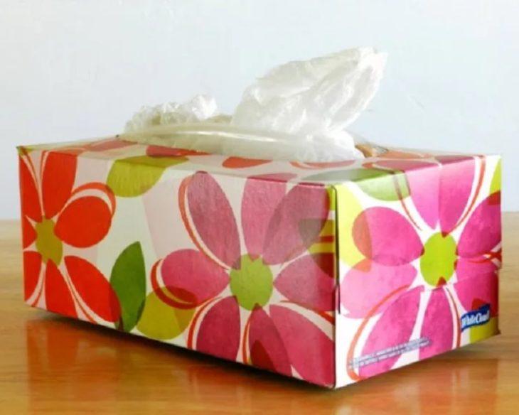 коробка от салфеток