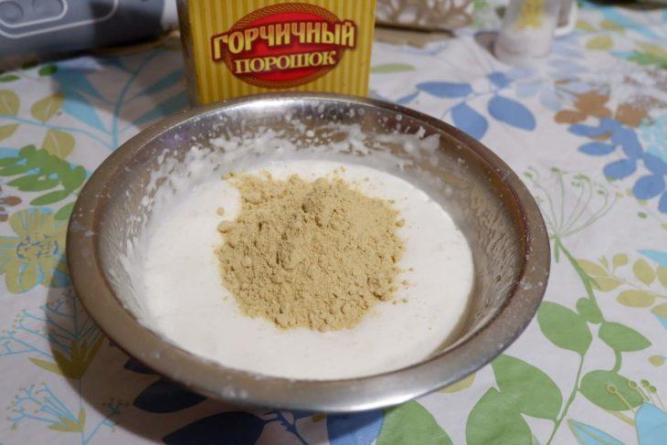 горчица и сода
