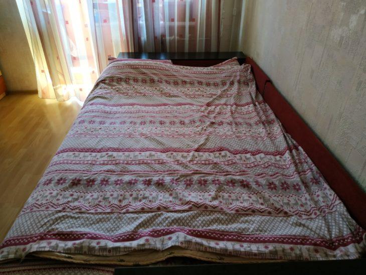 одеяло в пододеяльнике