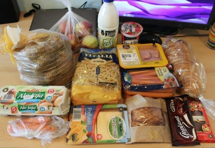 запасы еды