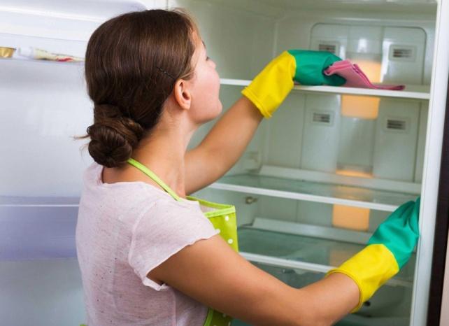 моем холодильник