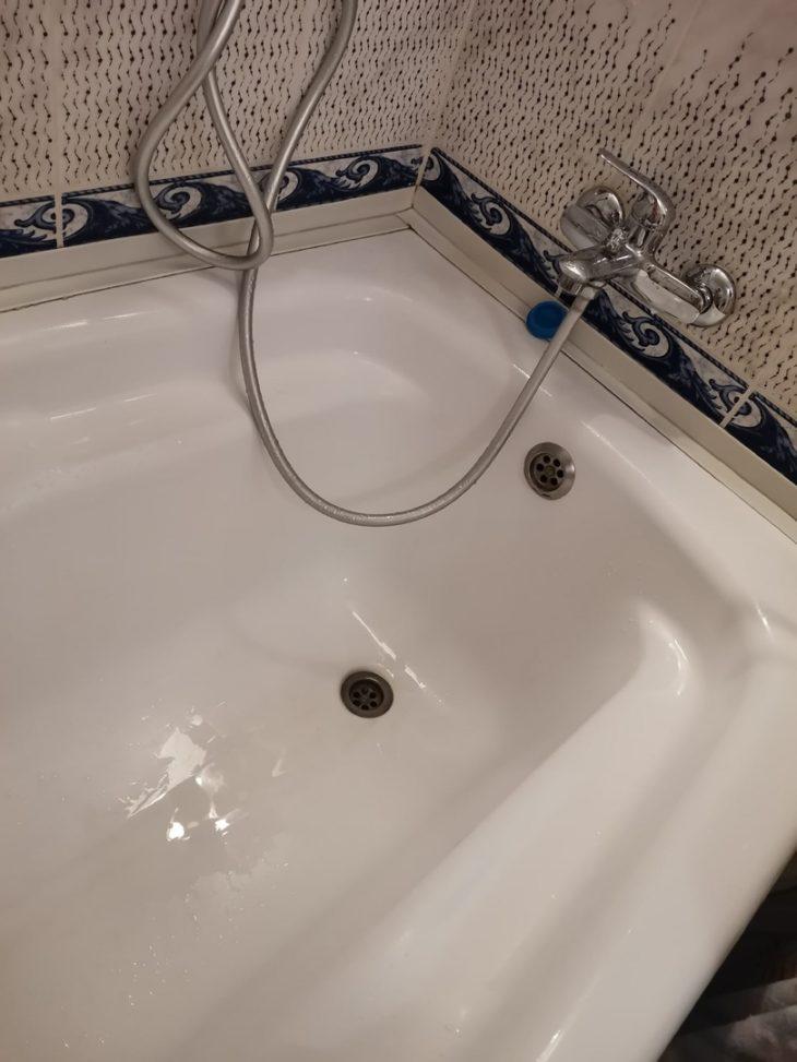 ванна после уборки