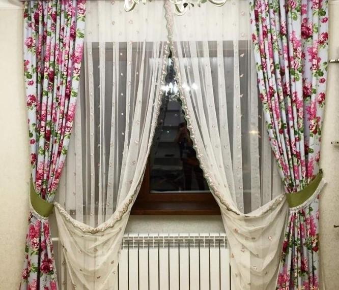 летние шторы