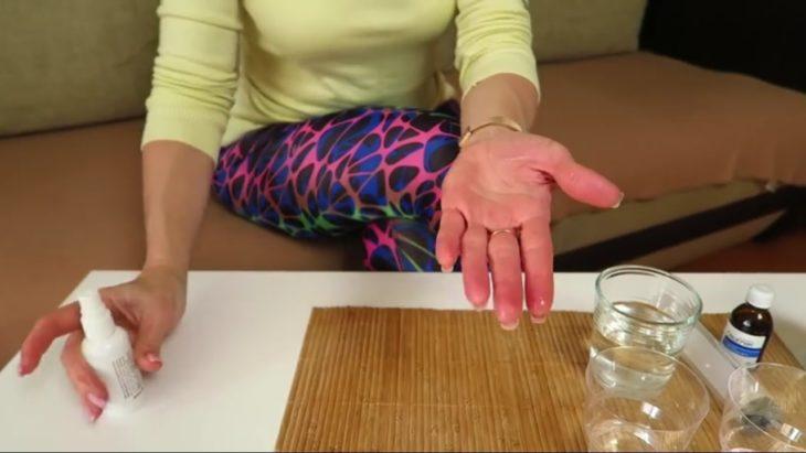 тестируем домашний антисептик