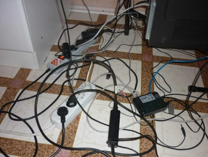 электрика без планирования