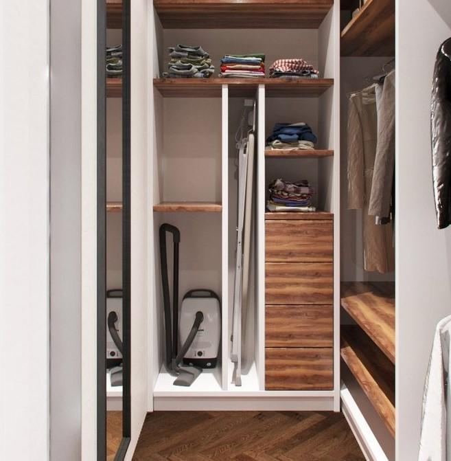 балкон или гардеробная