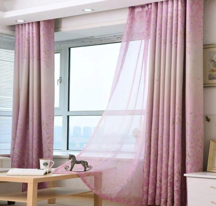чистые шторы