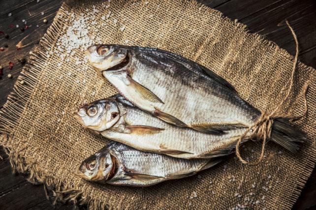 не едят сушеную рыбу