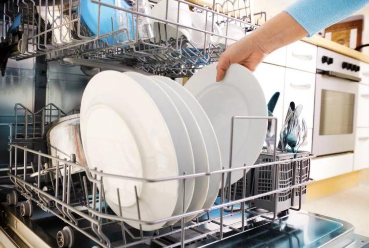 мытая посуда