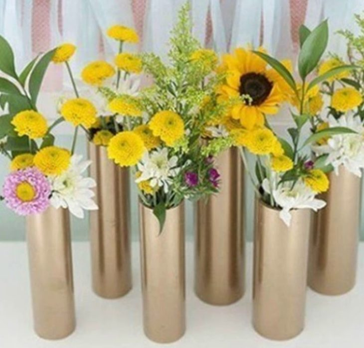 ваза из тубуса