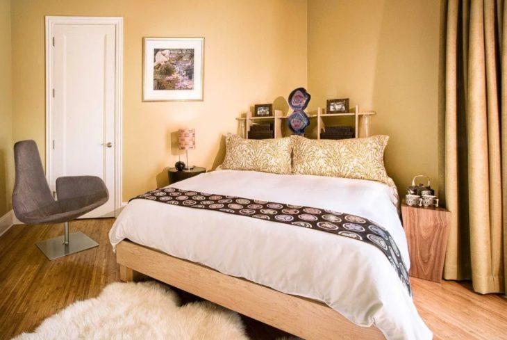 Кровать по диагонали