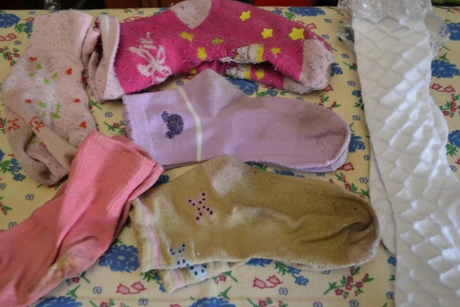 сортируем носки