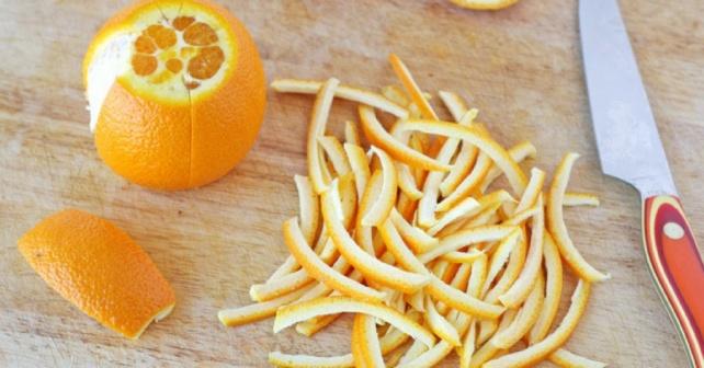 апельсиновая кожура для приправы и выпечки