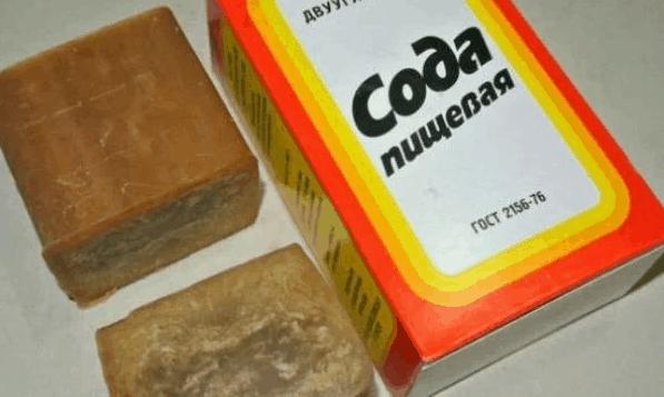 сода для очистки решеток вентиляции