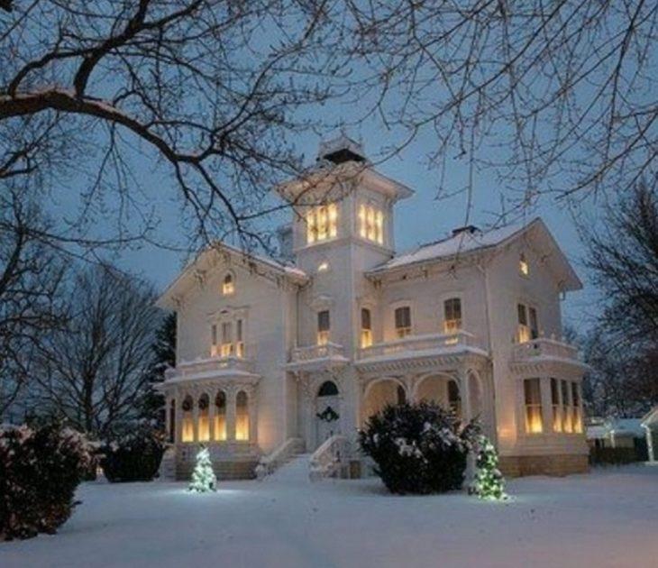 загородный дом богатой подруги
