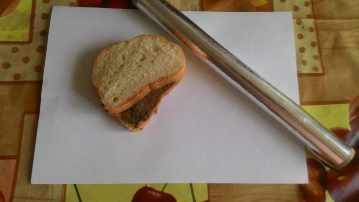 как завернуть бутерброд
