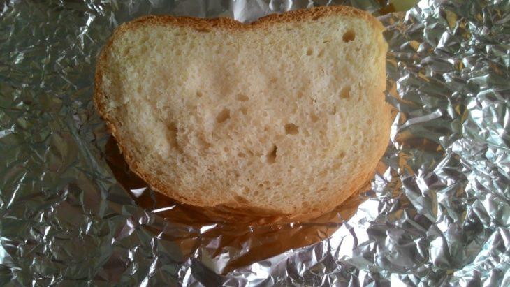 бутерброд вспотел в фольге