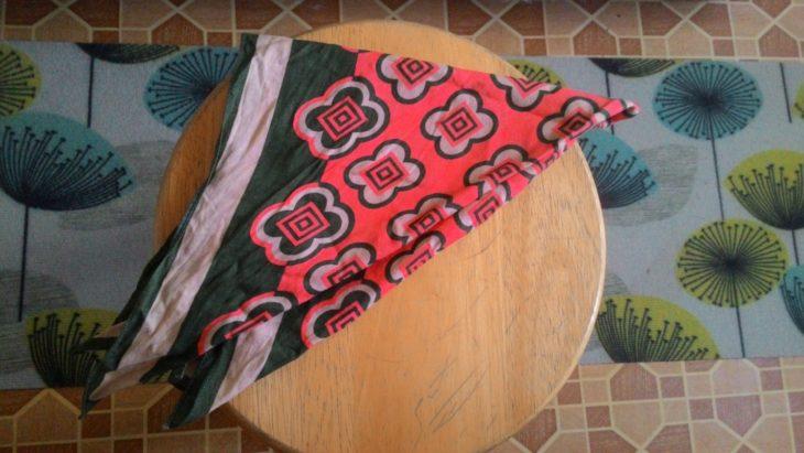 платок для декора табурета