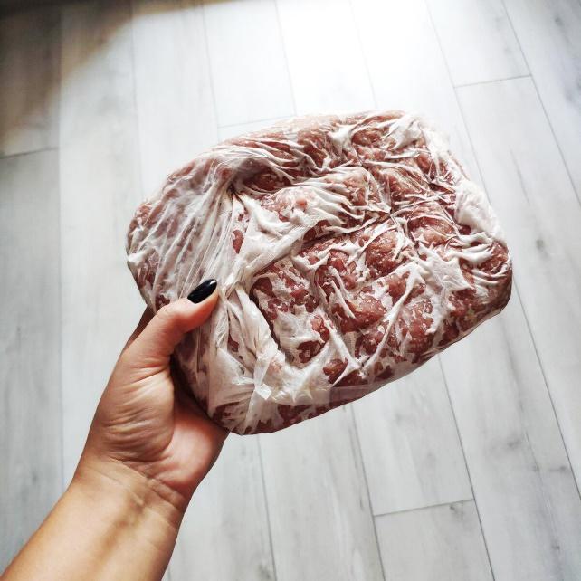 хранение мяса в морозилке