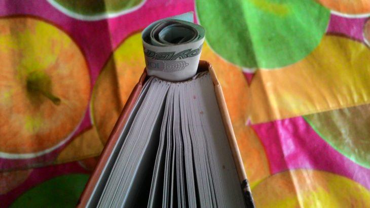 прячем деньги в книгу