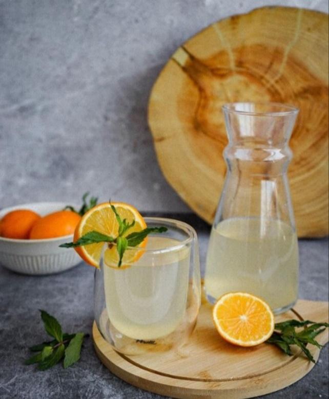 лимонад с апельсином