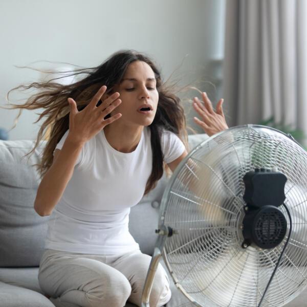 вентилятор со льдом