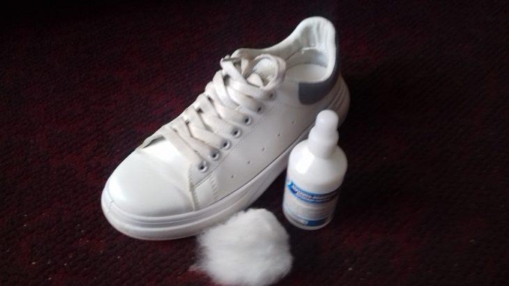 перекись водорода для белой обуви