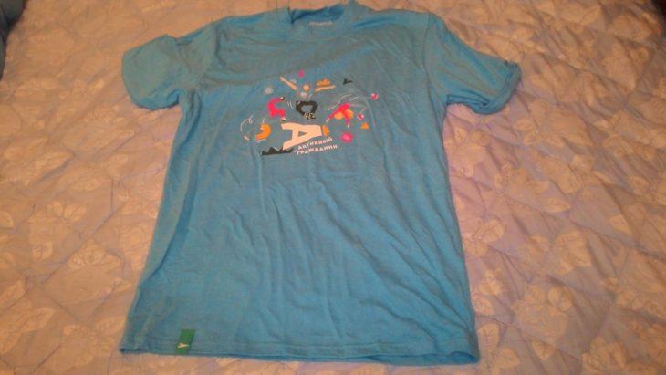 мятая футболка