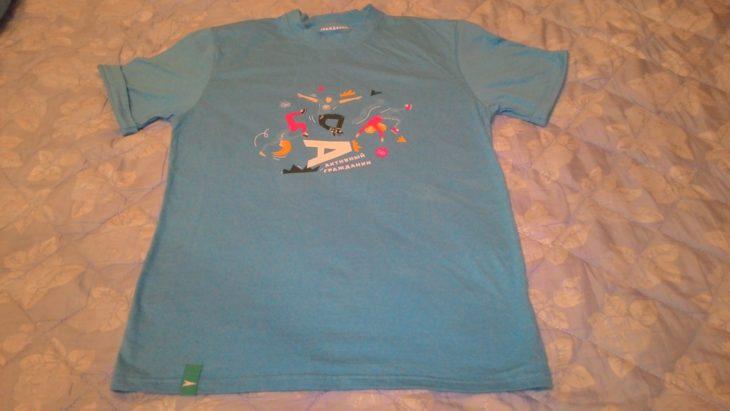 футболка поглажена без утюга