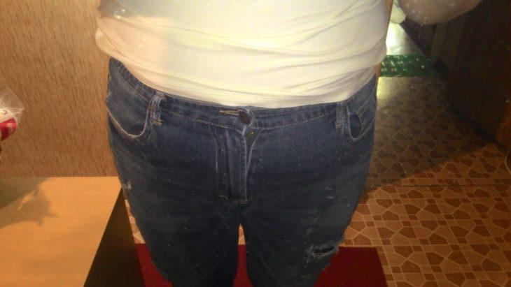джинсы после стирки стали малы
